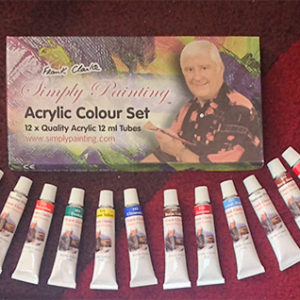Acrylic Paint Set - 12 x 12ml tubes